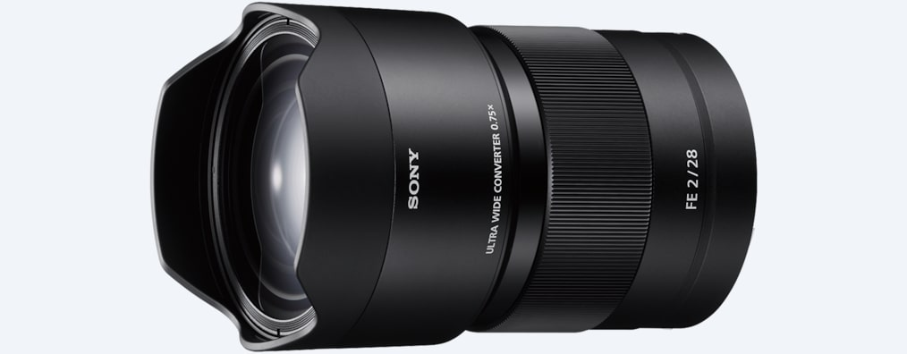 Conversor gran angular | SEL075UWC | Sony ES