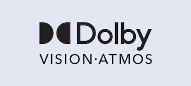 Logotipo de Dolby Vision® y Dolby Atmos®