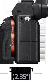 Imagen de Cámara α7 II con montura tipo E y sensor de fotograma completo