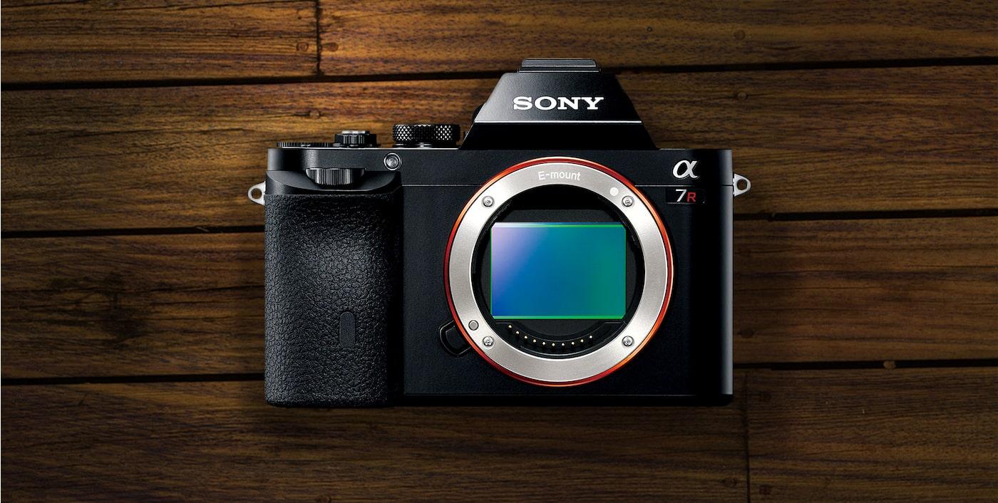 Cámaras fotográficas full frame con sensor Exmor a7R | Sony ES