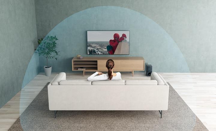 Con Dolby Atmos el sonido fluye a tu alrededor