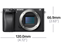 Imagen de α6300 Cámara con montura tipo E y sensor APS-C