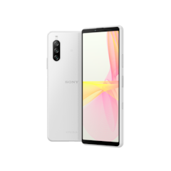 Xperia 10 III de color blanco