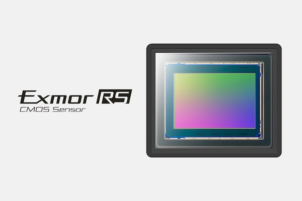 Sensor de imagen Exmor RS CMOS