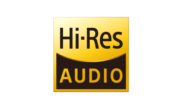 Logotipo del audio de alta resolución