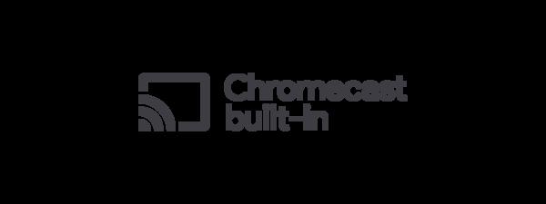 Logotipo de Chromecast integrado