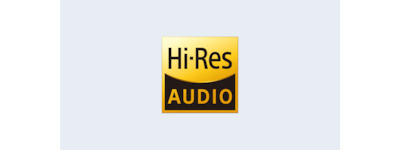 Logotipo de audio de alta resolución de la HT-Z9F