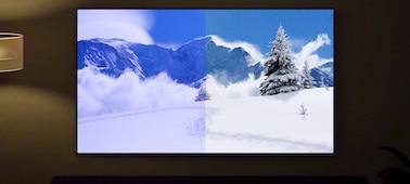 Imagen de pantalla que muestra las ventajas del sensor de luz y color