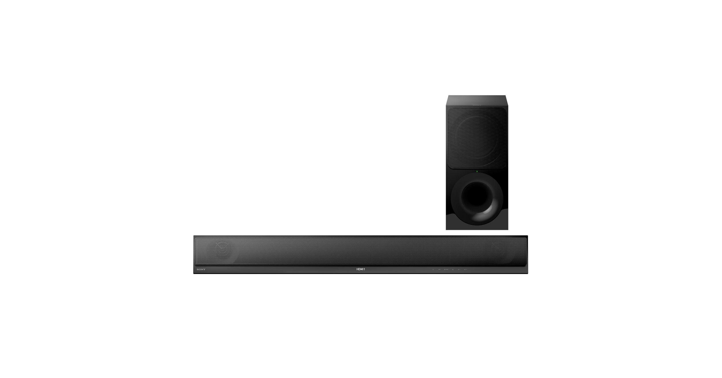 Barra de sonido HT-CT800 de 2.1 canales con tecnología Wi-Fi®/Bluetooth®