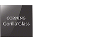 Logotipo del cristal Corning® Gorilla® Glass