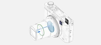Imagen de Cámara compacta HX99 con zoom de 24-720mm