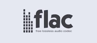 Imagen del logo de FLAC.