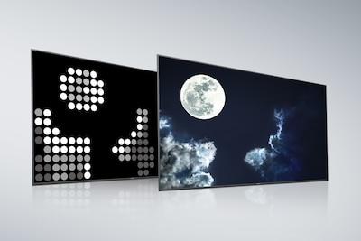 Full Array LED de Sony con pantalla y panel posterior X-tended Dynamic Range PRO