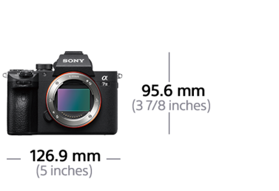 Imagen de α7 III con sensor de imagen de fotograma completo de 35mm