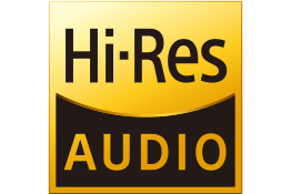 Logo del audio de alta resolución