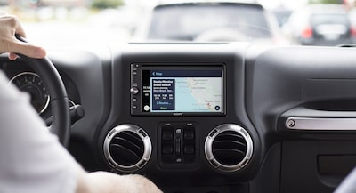 Apple CarPlay de XAV-AX200