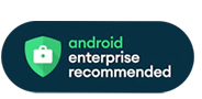 Logotipo de Recomendado por Android Enterprise