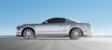 Imagen de coche con OLED XR Motion Clarity