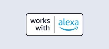Logotipo de Compatible con Alexa