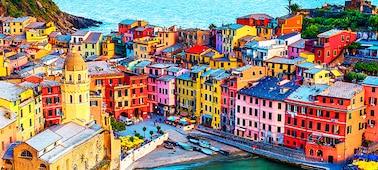 Imagen de edificios con detalles en 4K y más de mil millones de colores