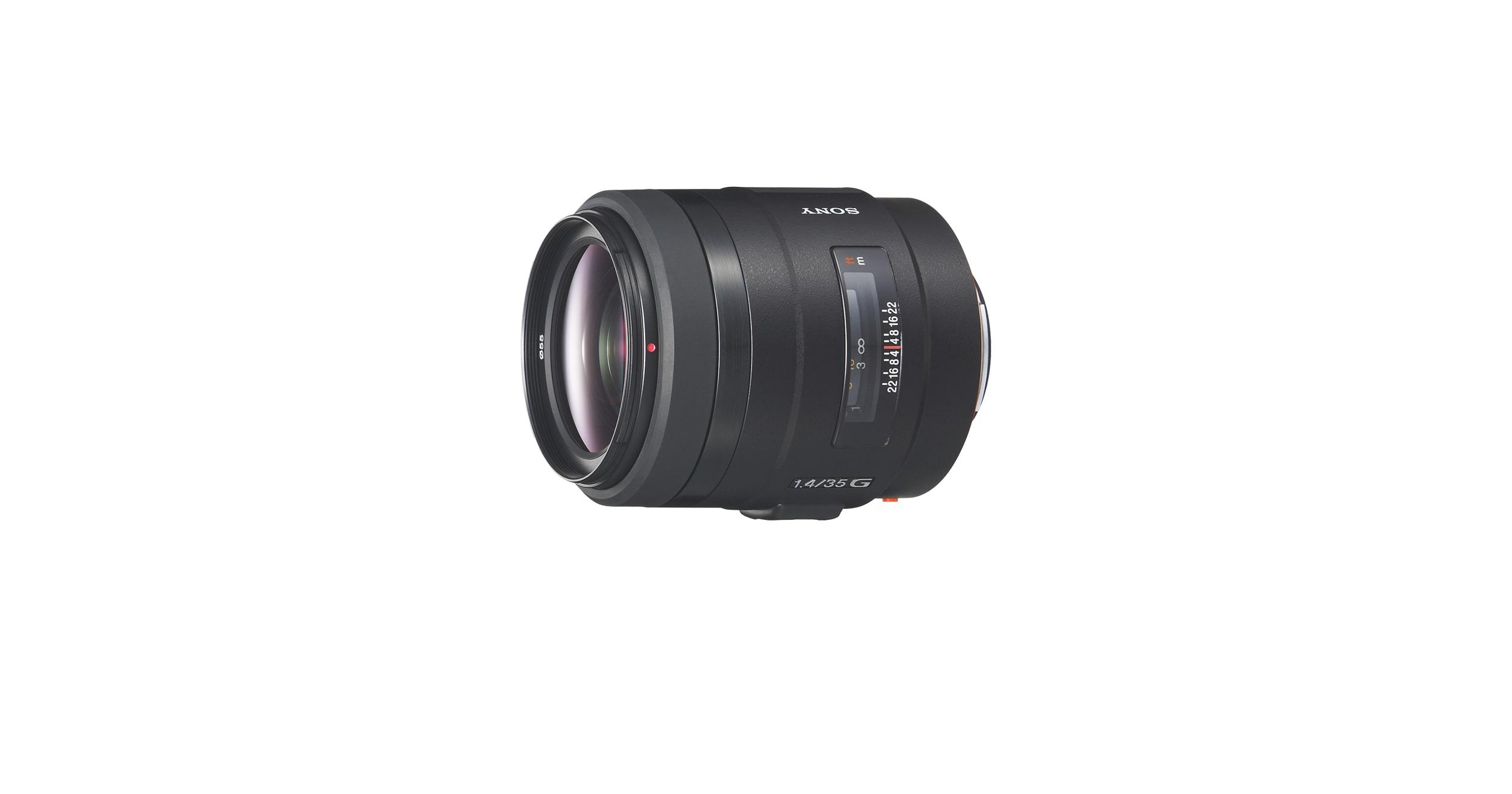 Objetivo gran angular de 35mm F1.4 | SAL35F14G | Sony ES