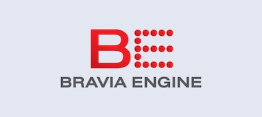 Logotipo de BRAVIA ENGINE