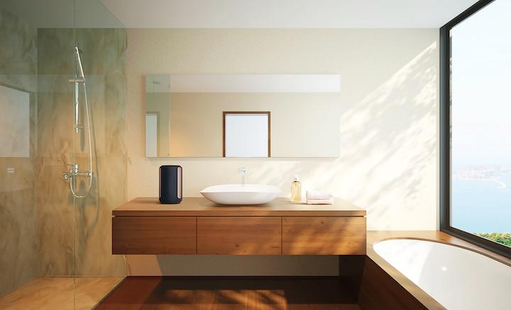 SRS-RA3000 en el baño