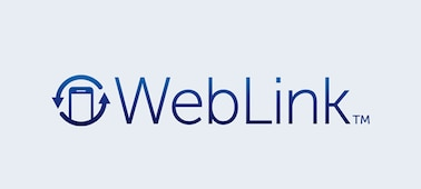 Imagen del logo de WebLink.